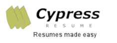 Cypress Resume resumes made easy