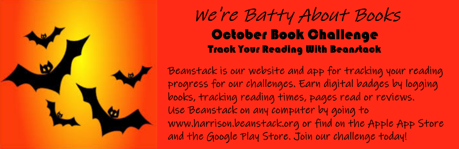 We're Batty About Books ... October Book Challenge